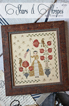 Stars & Stripes by With Thy Needle & Thread