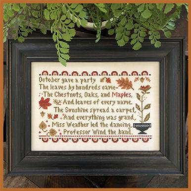 October's Party by Little House Needleworks
