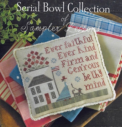 *Lesson Two (Serial Bowl Collection) by Plum Street Samplers
