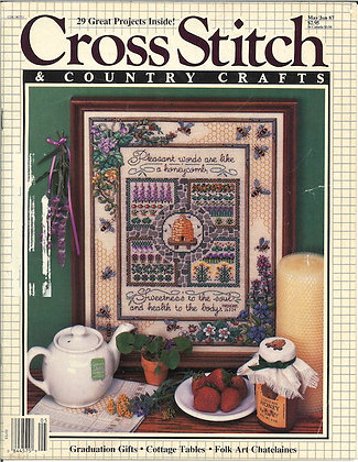 CATS Cross Stitch & Country Crafts May/June 1987