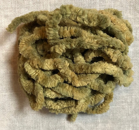 Mossy Hand-Dyed Chenille Trim 3-Yard Packet by Lady Dot Create