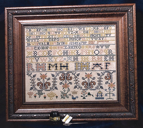 Mary Hamilton Sampler by Threads of Gold