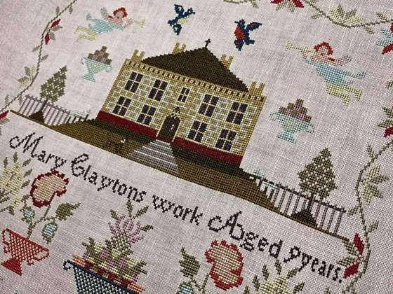 Mary Clayton by Hands Across the Sea Samplers