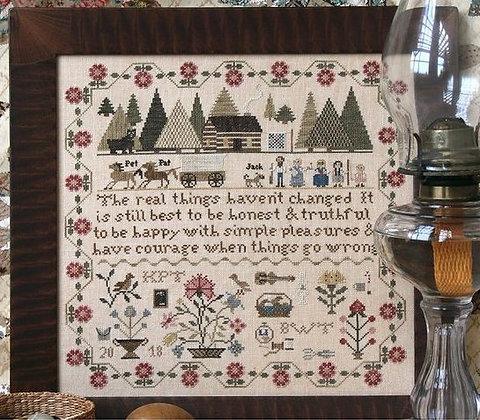 Prairie Life Sampler by Heartstring Samplery