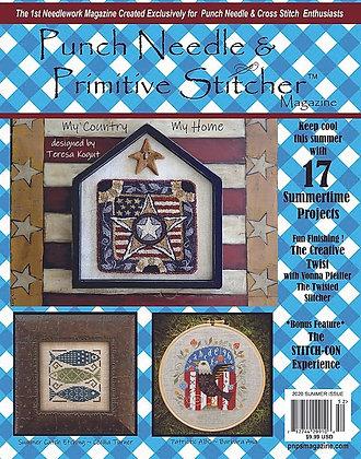 Summer 2020 Punch Needle & Primitive Stitcher Magazine
