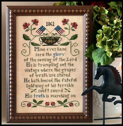 Battle Hymn of the Republic by Little House Needleworks