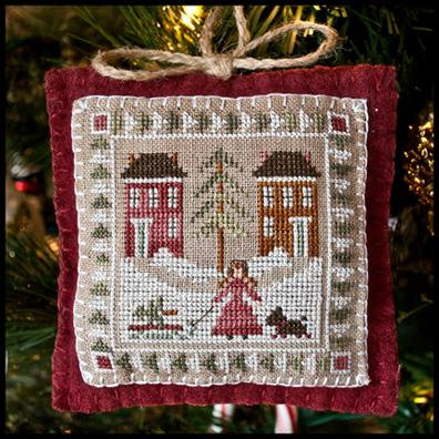 Bringing Home the Tree by Little House Needleworks