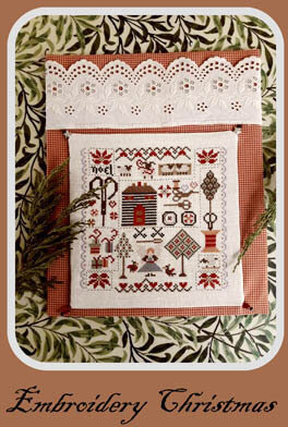Embroidery Christmas by Nikys Creations