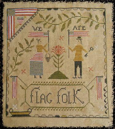 Flag Folk by Notforgotten Farm