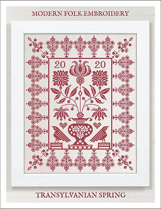 Transylvania Spring by Modern Folk Embroidery