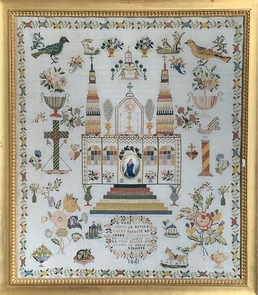 Felicite Manceau 1841 by Reflets de Soie