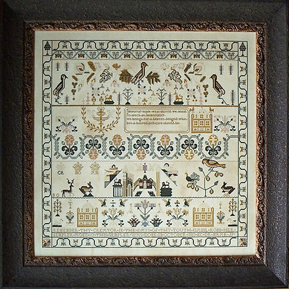 Isabill Robb 1803 by Samplers Not Forgotten