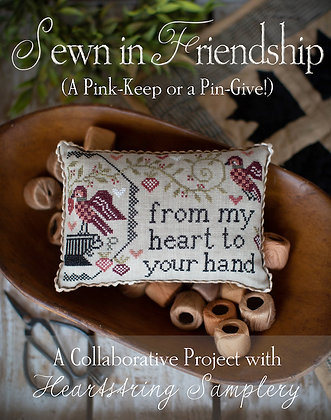 Sewn in Friendship by Plum Street Samplers