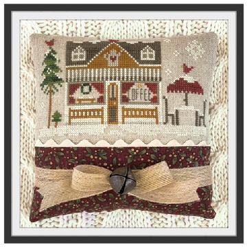 Hometown Holiday: Coffee Shop by Little House Needleworks