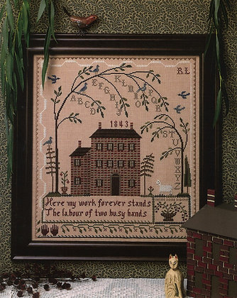 Weeping Tree by The City Stitcher
