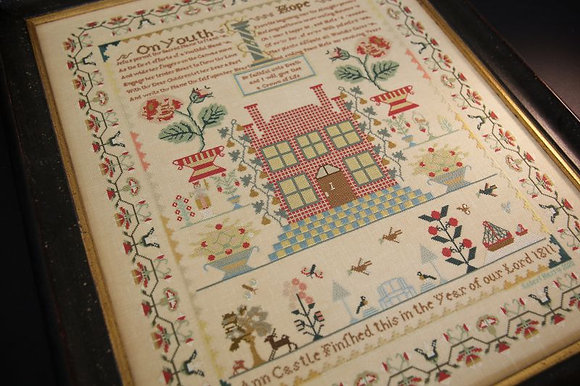 Ann Castle 1811 by Hands Across the Sea Samplers