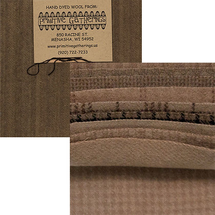 "TAUPE Wool 5"" Charm Pack by Primitive Gatherings"
