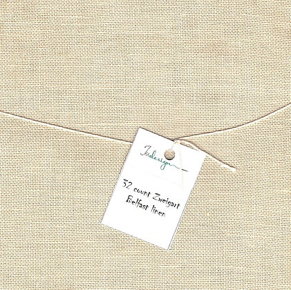 40 Count Old Sheep Fat Quarter Hand-Dyed Linen by xJudesign