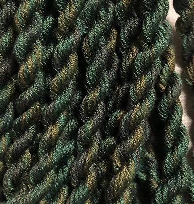 Thistle Green 6-yards, 12-stranded Silk Floss by Gloriana