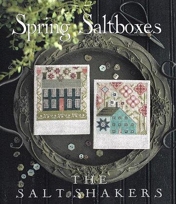Spring Saltboxes by Plum Street Samplers
