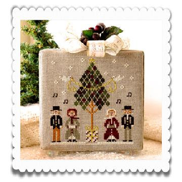 Caroling Quartet (Home Town Holiday) by Little House Needleworks/Cl