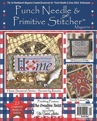 Summer 2021 Punch Needle & Primitive Stitcher Magazine