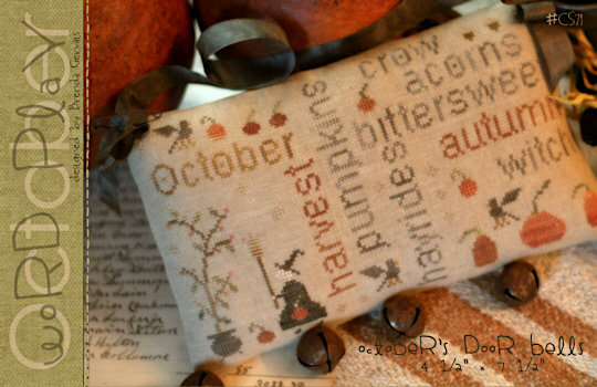 October Word Play by With Thy Needle & Thread