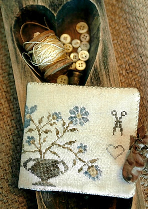Dogwood Farms Needle Book by Stacy Nash Primitives