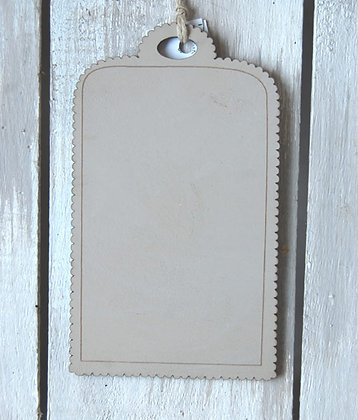 Large Linen Tags by The Bee Company TBD11