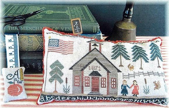 Schoolhouse Sampler 1871 by The Scarlett House