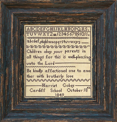 Harriet Gobey DOWNLOAD by Hands Across the Sea Samplers