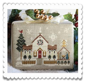 Town Church (Home Town Holiday) by Little House Needleworks/Cl