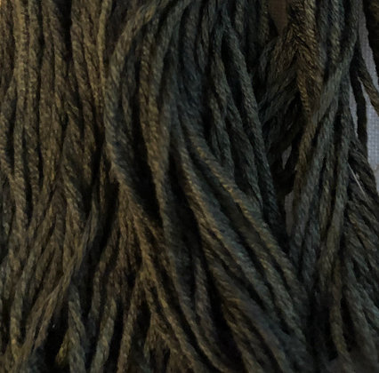 Blackened Grass Silk N Colors by The Thread Gatherer