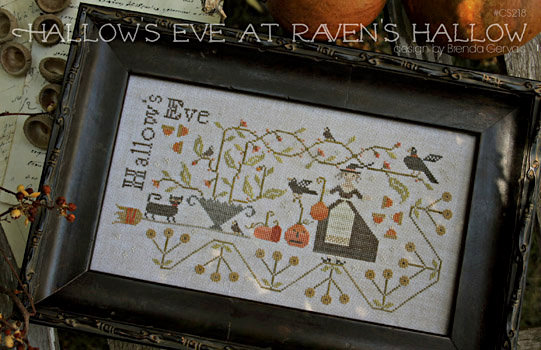 *Hallow's Eve at Raven's Hallow by With Thy Needle & Thread Brenda Gervais