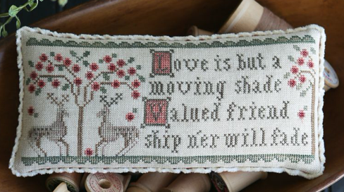 CATS Lesson Five by Plum Street Samplers WITH THREADS