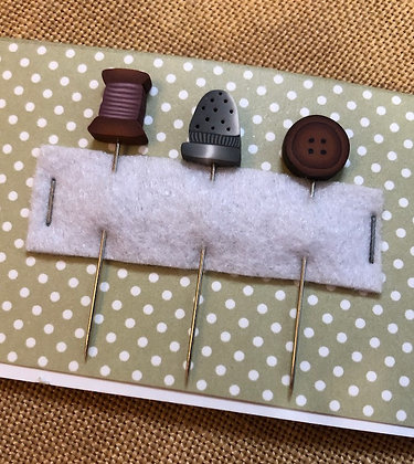Sewing Puntinies Pins Set by Puntini Puntini