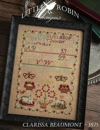 Clarissa Beaumont 1875 by Little Robin Designs