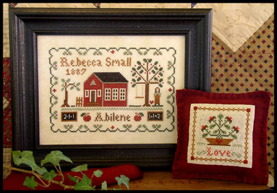 CATS Dear Diary: Rebecca Small by Little House Needleworks