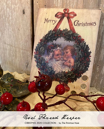 Noel (Merry Christmas) Thread Keeper by The Primitive Hare
