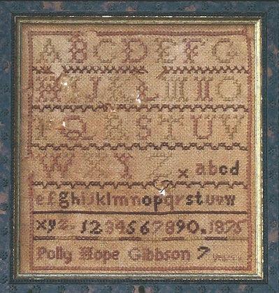 The Marking Sampler by Homespun Samplar