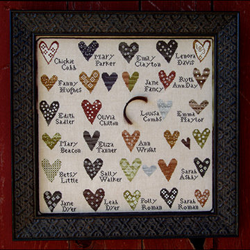 *A Friendship Sampler by Carriage House Samplings