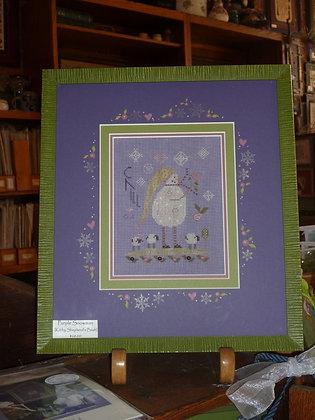 CATS Purple Snowman KIT by Shepherd's Bush