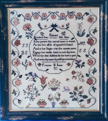 Frances B. Jones 1817 by The Scarlet Letter
