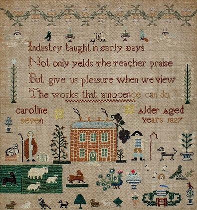 Caroline Alder 1827 by NeedleWork Press
