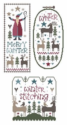 Wish You a Merry Winter by Marjorie Massey PR9