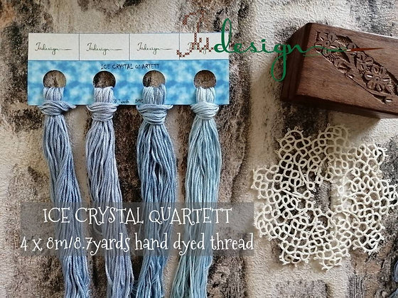 Ice Crystal Cotton Thread Pack Limited Edition by XJudesign