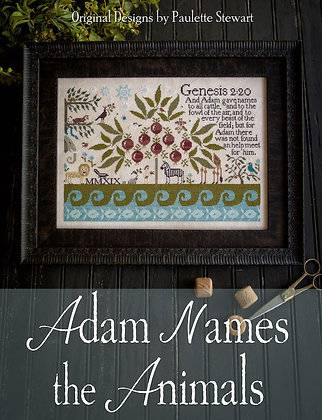 Adam Names the Creatures by Plum Street Samplers