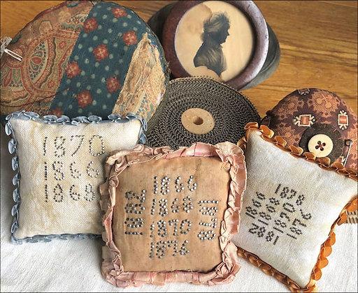 SALE Pinstuck Pincushions by Kathy Barrick