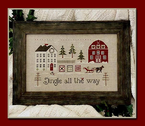 Jingle All the Way by Little House Needleworks