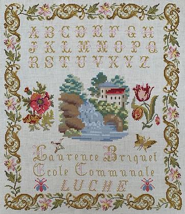 Laurence Briquet c. 1906 by Reflets de Soie